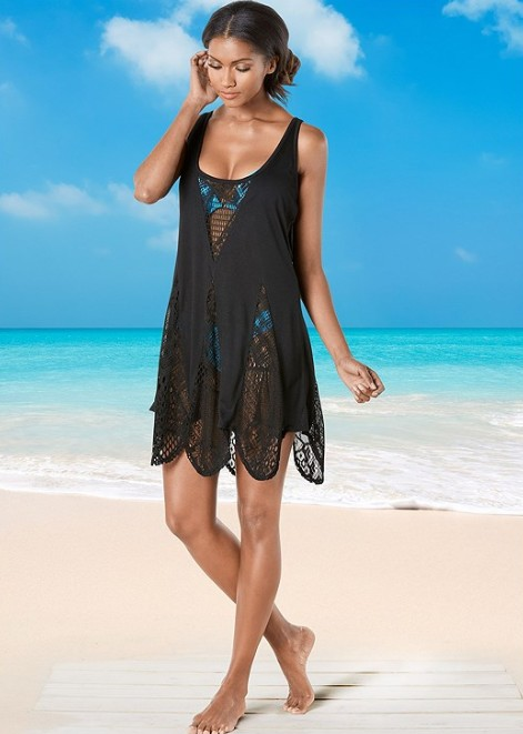 THE SCALLOPED EDGE COVERUP