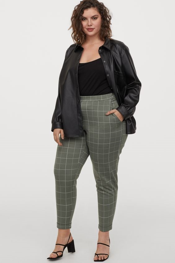 THE PLAID PULL-ON PANT