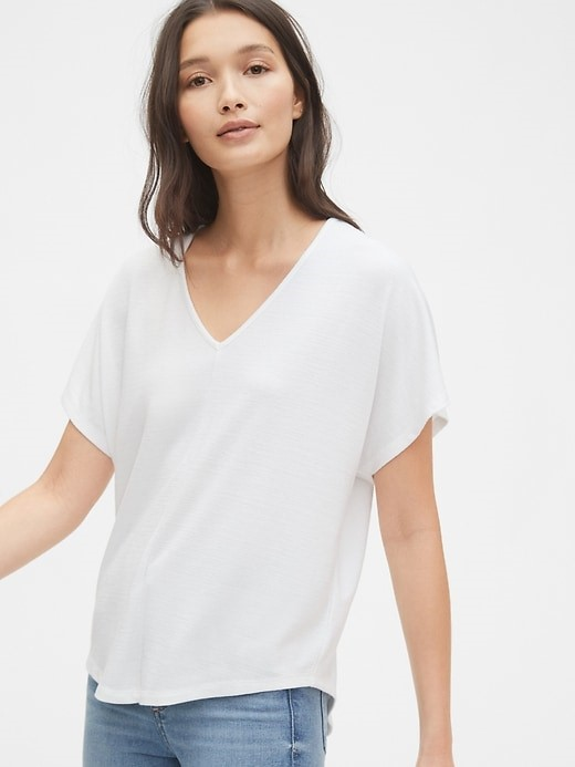 THE SOFTSPUN V-NECK T-SHIRT