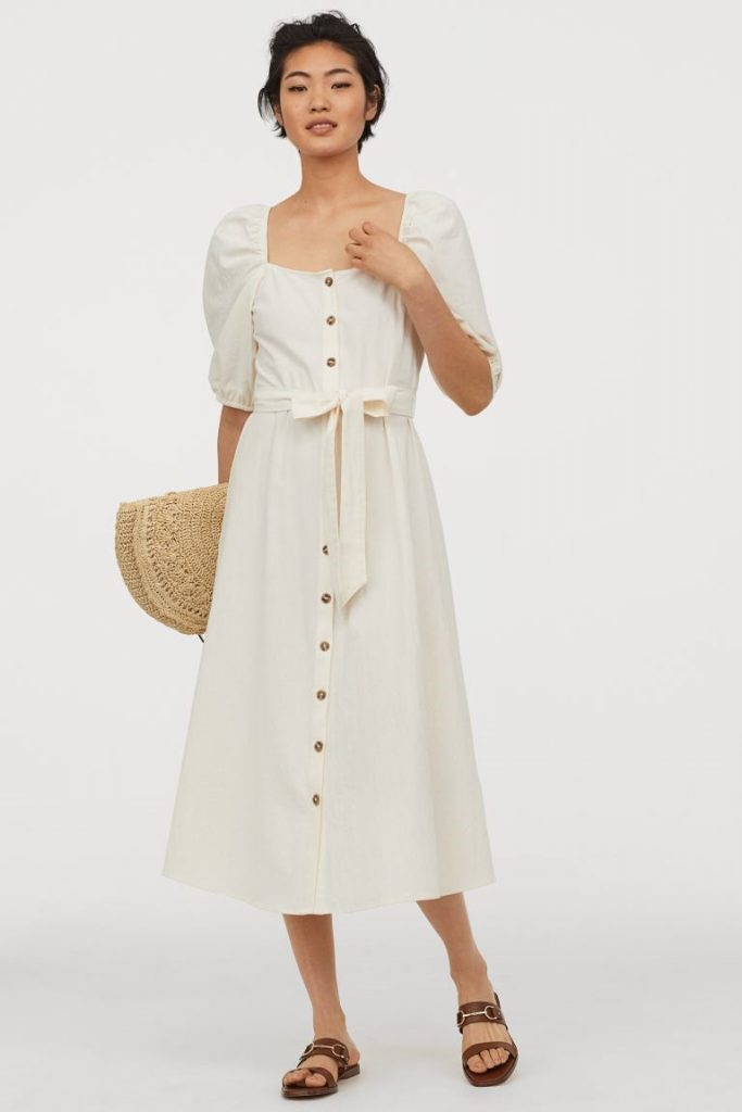 THE CREPED COTTON DRESS