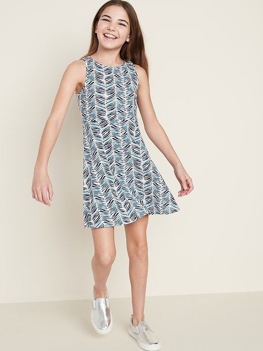 THE FIT & FLARE TANK DRESS FOR GIRLS