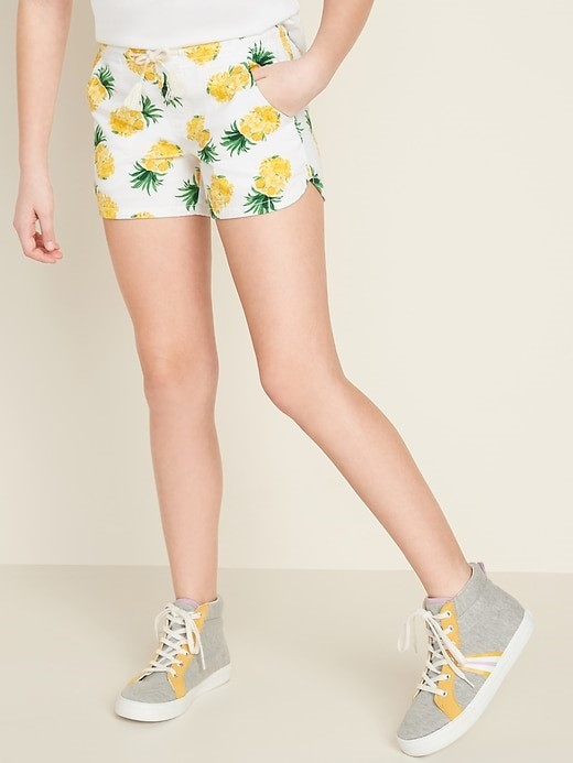 THE FUNCTIONAL DRAWSTRING PULL-ON SHORTS FOR GIRLS
