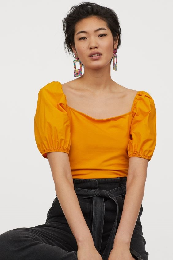 THE PUFF SLEEVE TOP
