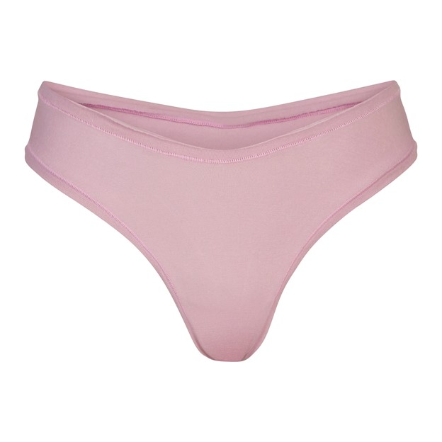 THE COTTON JERSEY DIPPED THONG