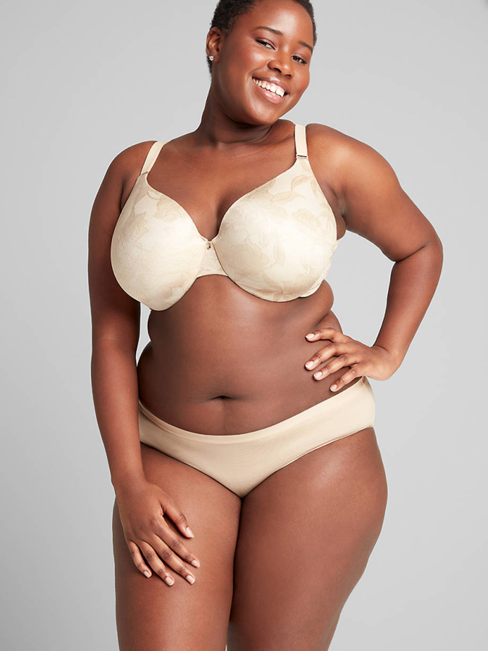 THE LACE INVISIBLE BACKSMOOTHER LIGHTLY LINED FULL COVERAGE BRA