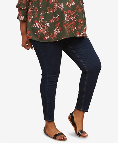 THE PLUS SIZE SKINNY JEANS