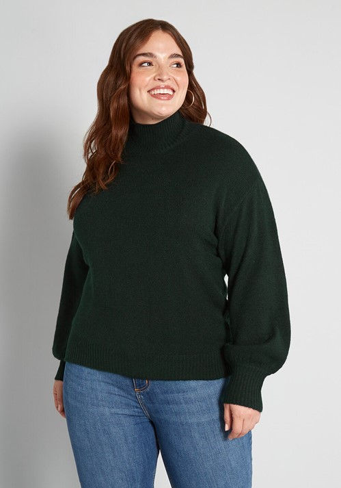 THE WARM UP PULLOVER SWEATER