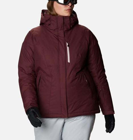 THE WOMEN'S LAST TRACKS INSULATED JACKET PLUS SIZE